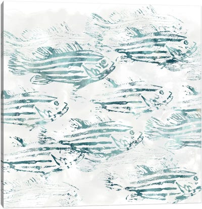 Sealife Batik IV Canvas Art Print