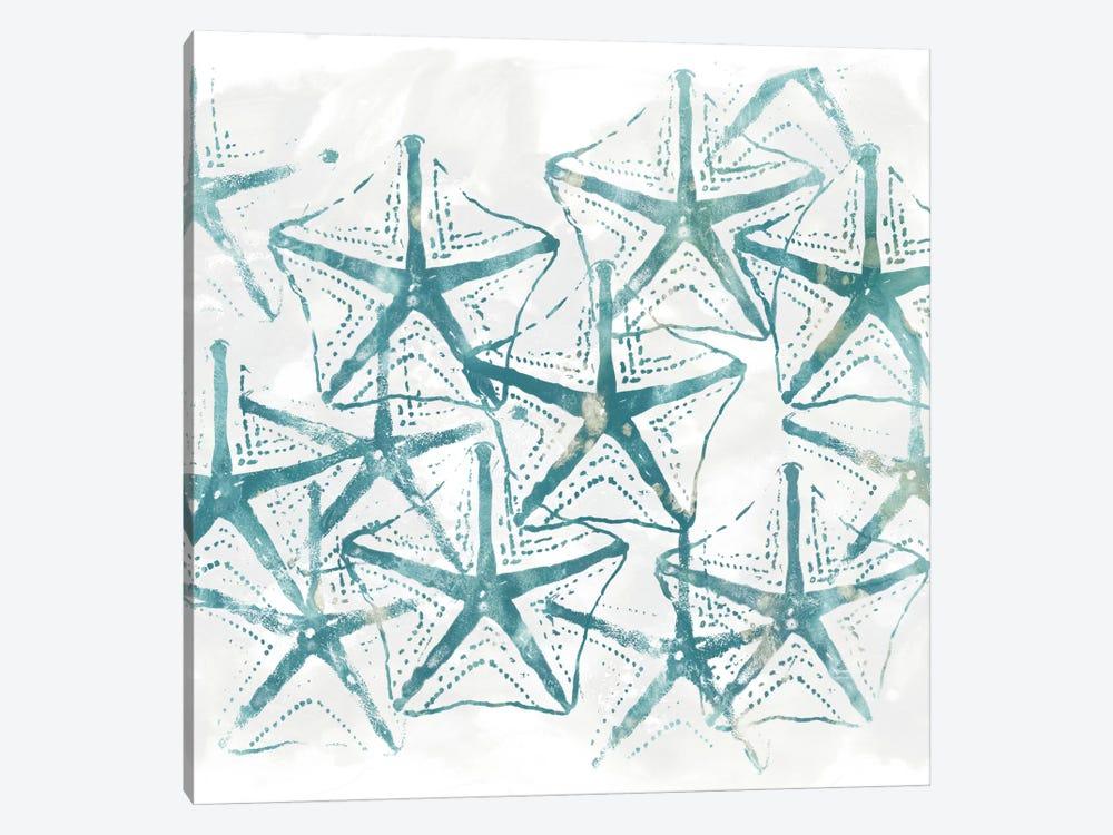 Sealife Batik V by June Erica Vess 1-piece Canvas Artwork
