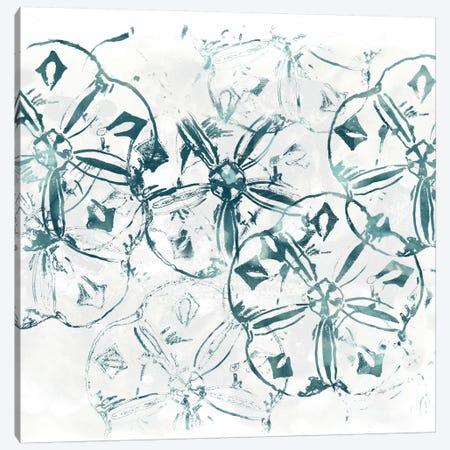 Sealife Batik VIII Canvas Print #JEV329} by June Erica Vess Canvas Print