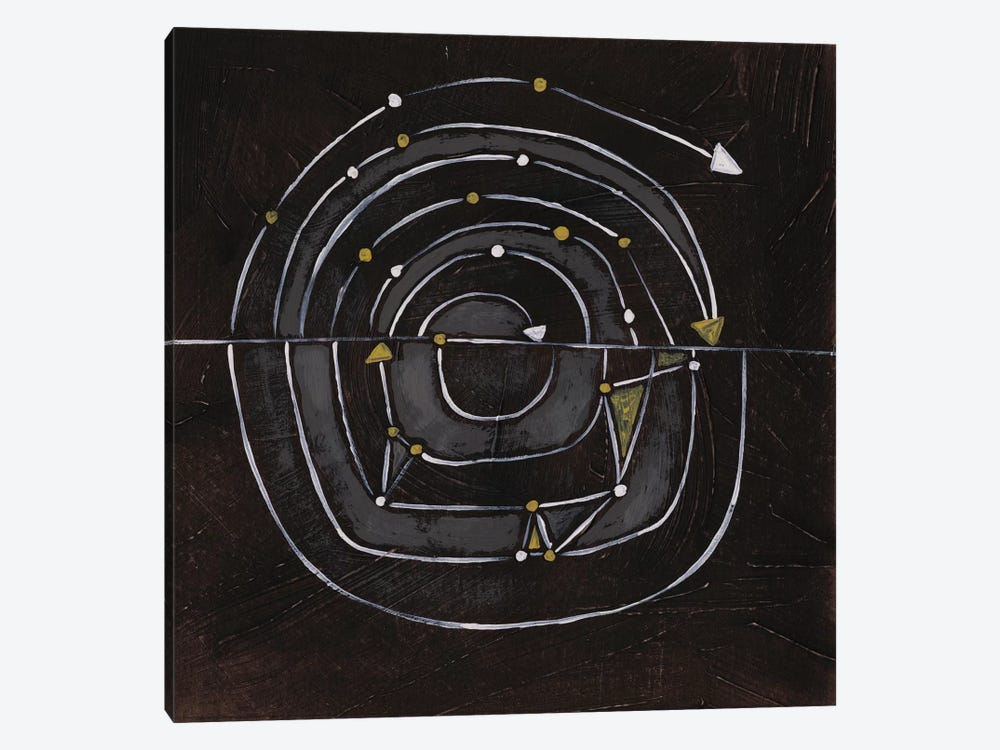 Algorithm IX by June Erica Vess 1-piece Canvas Print
