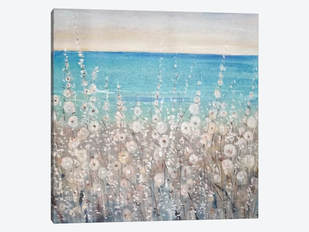 Flowers by the Sea I by Tim O'Toole 1-piece Canvas Art Print