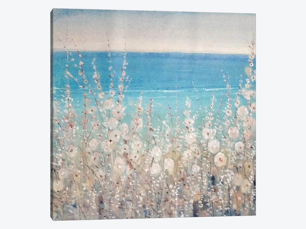 Flowers by the Sea II by Tim OToole 1-piece Canvas Art