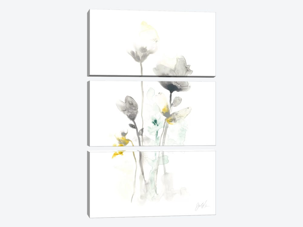 Stem Illusion I by June Erica Vess 3-piece Canvas Art