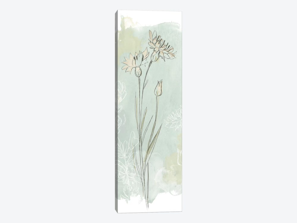 Stone Flower Study I by June Erica Vess 1-piece Canvas Wall Art