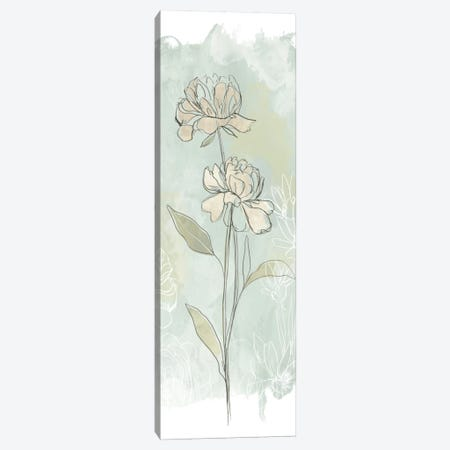 Stone Flower Study II Canvas Print #JEV338} by June Erica Vess Canvas Wall Art
