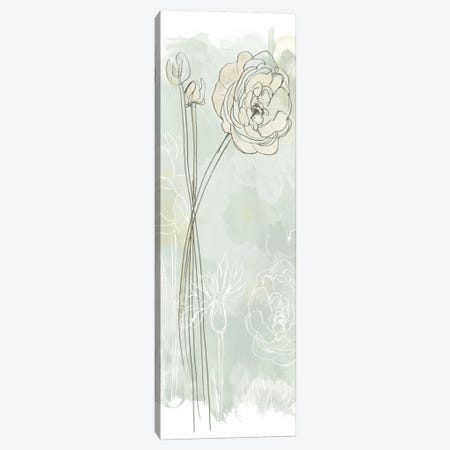 Stone Flower Study III Canvas Print #JEV339} by June Erica Vess Canvas Wall Art