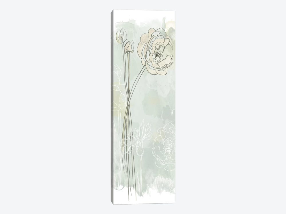 Stone Flower Study III by June Erica Vess 1-piece Canvas Wall Art