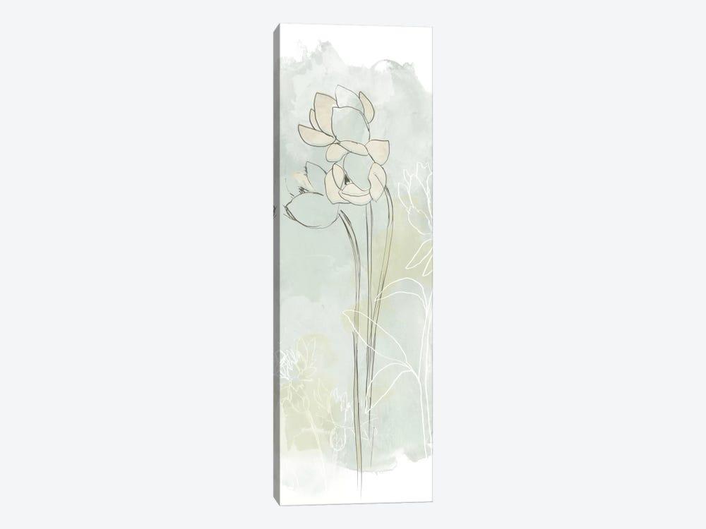 Stone Flower Study IV by June Erica Vess 1-piece Canvas Artwork