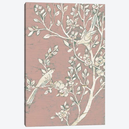 Sweet Chinoiserie I Canvas Print #JEV345} by June Erica Vess Canvas Art