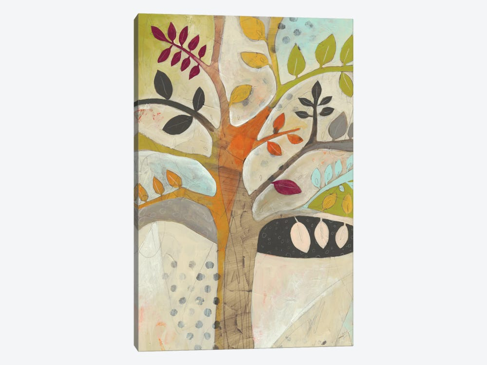 Forest Spectrum I by June Erica Vess 1-piece Canvas Art