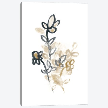 Bronze Bouquet I Canvas Print #JEV367} by June Erica Vess Canvas Wall Art