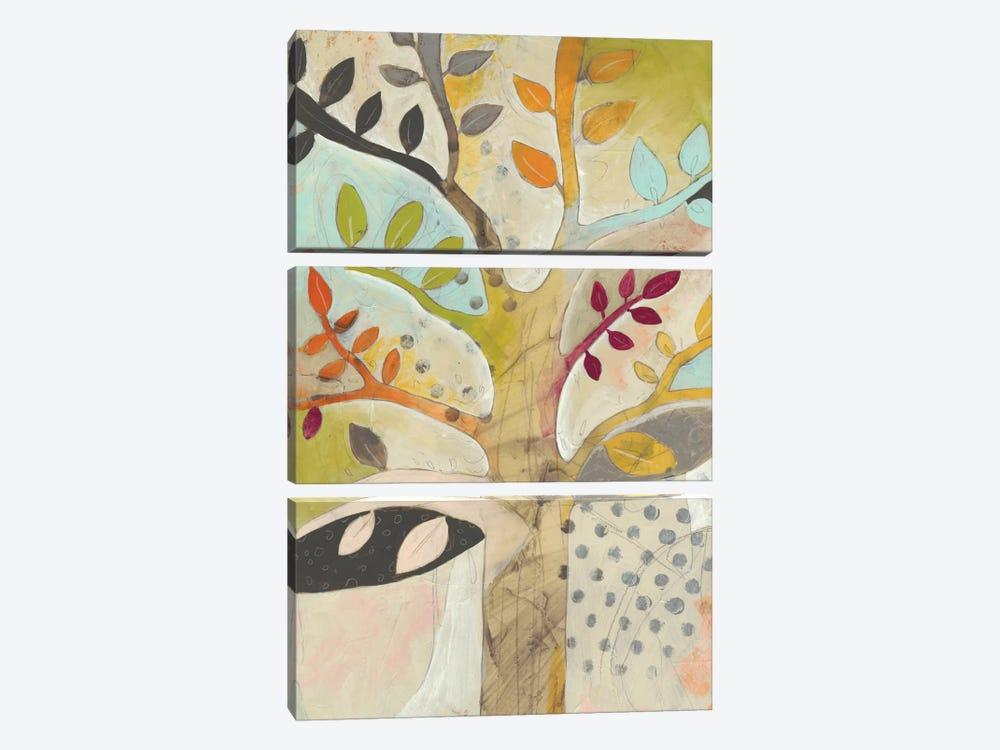 Forest Spectrum II by June Erica Vess 3-piece Canvas Art Print
