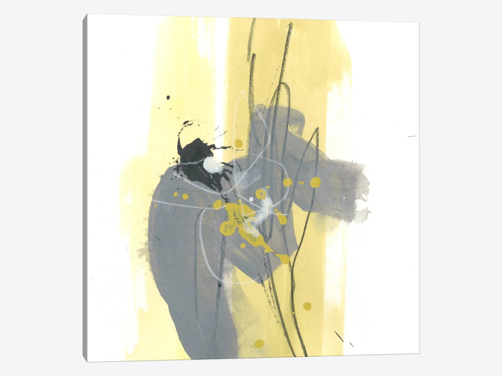 Catch Phrase IV by June Erica Vess 1-piece Canvas Print
