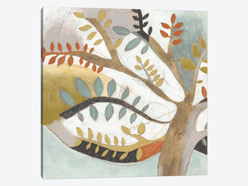 Arbor Whimsy I by June Erica Vess 1-piece Canvas Artwork