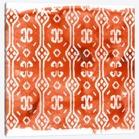 Crimson Motif III 3-Piece Canvas #JEV397} by June Erica Vess Art Print