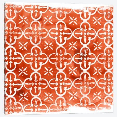 Crimson Motif IV Canvas Print #JEV398} by June Erica Vess Canvas Wall Art