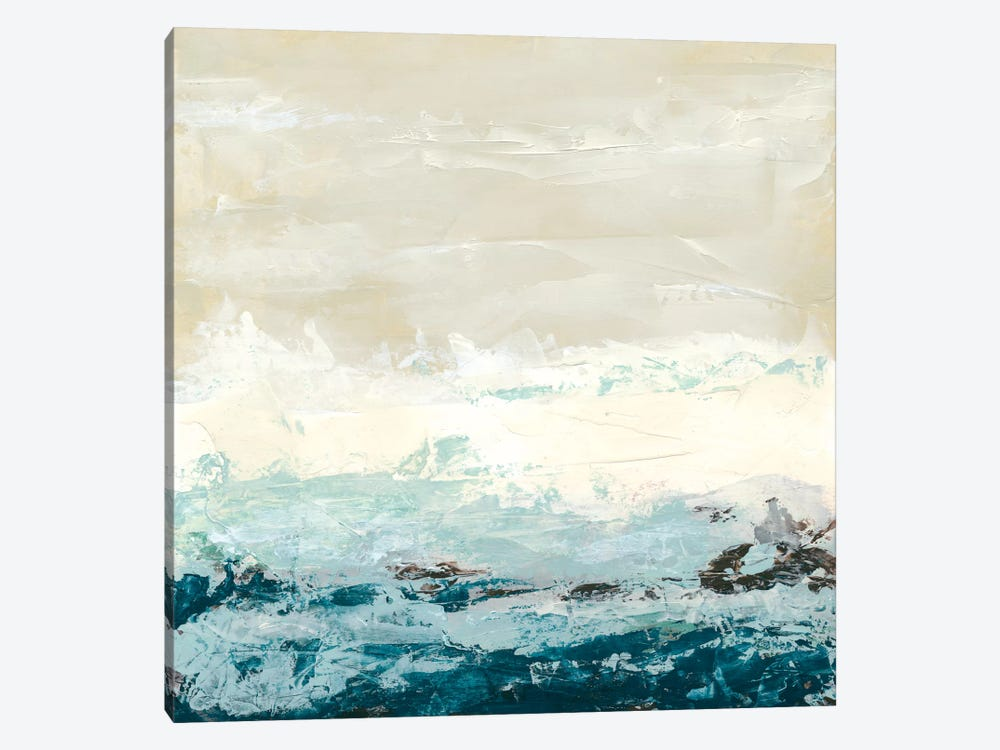 Coastal Currents I by June Erica Vess 1-piece Canvas Print