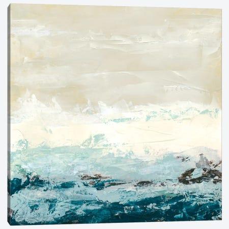 Coastal Currents I Canvas Print #JEV3} by June Erica Vess Art Print