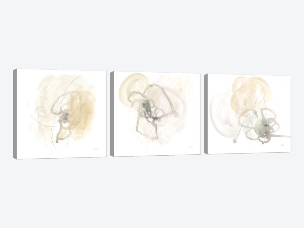 Infinite Variable Triptych by June Erica Vess 3-piece Canvas Art Print