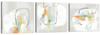 Stereo Fade Triptych Canvas Art Print