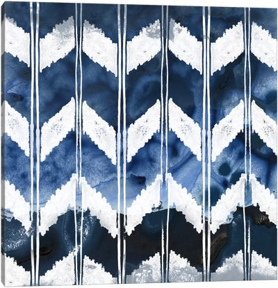 Indigo Impression I Canvas Art Print