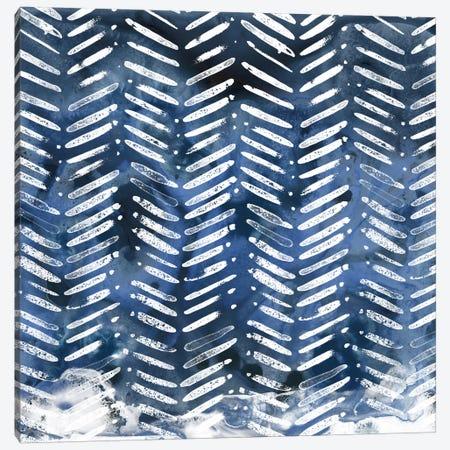 Indigo Impression IX Canvas Print #JEV415} by June Erica Vess Canvas Art