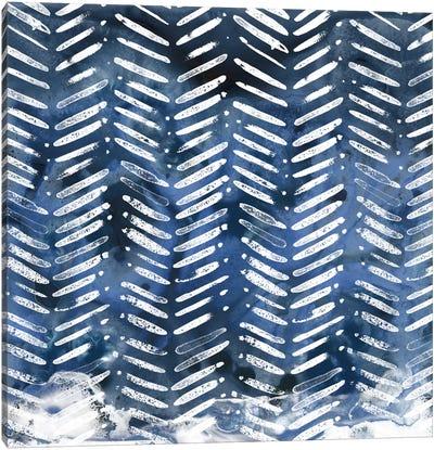 Indigo Impression IX Canvas Art Print