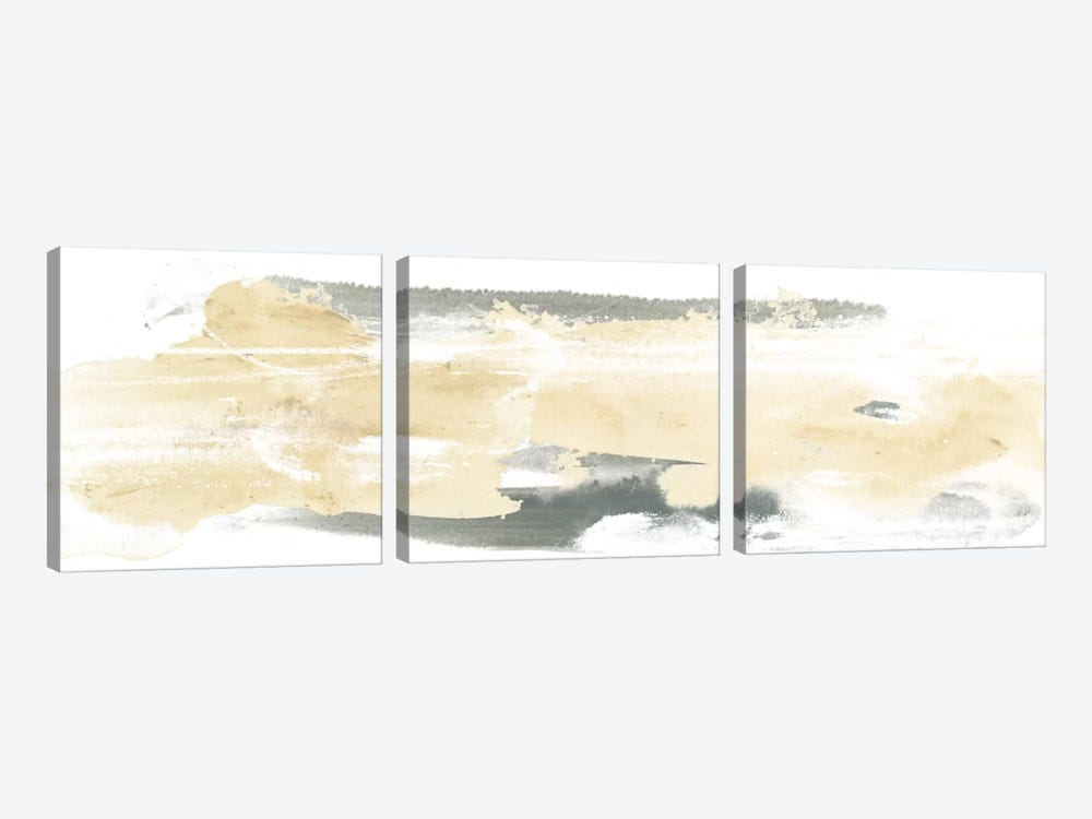 Neutral Geology I by June Erica Vess 3-piece Canvas Wall Art