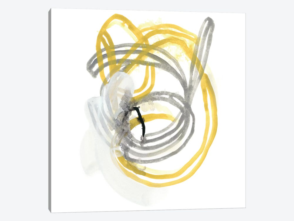String Orbit I by June Erica Vess 1-piece Canvas Artwork