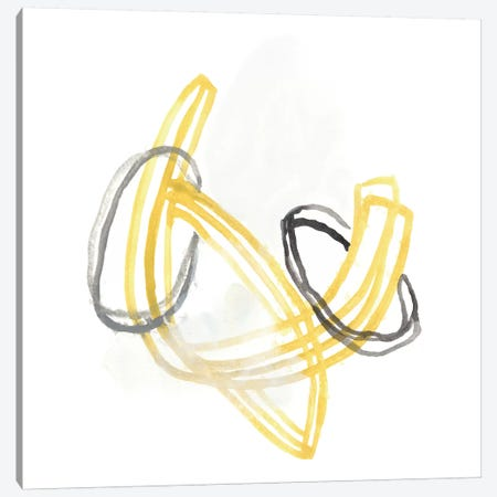 String Orbit V Canvas Print #JEV456} by June Erica Vess Canvas Wall Art
