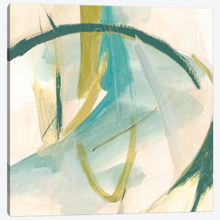 Vertigo Note I Canvas Print #JEV460} by June Erica Vess Canvas Wall Art