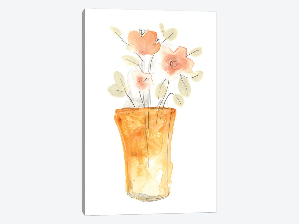 Blossom Pop Study I 1-piece Canvas Print