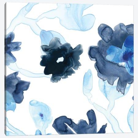 Blue Gossamer Garden III Canvas Print #JEV472} by June Erica Vess Canvas Art Print