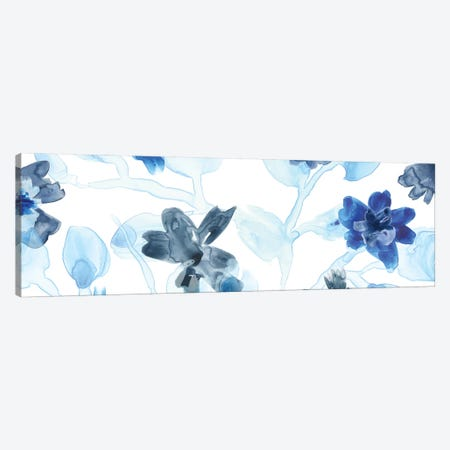 Blue Gossamer Garden V Canvas Print #JEV474} by June Erica Vess Canvas Wall Art