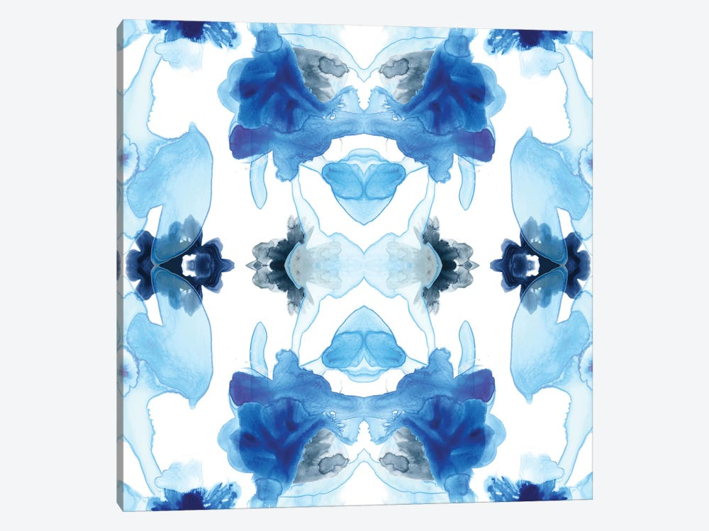 Blue Kaleidoscope I by June Erica Vess 1-piece Art Print
