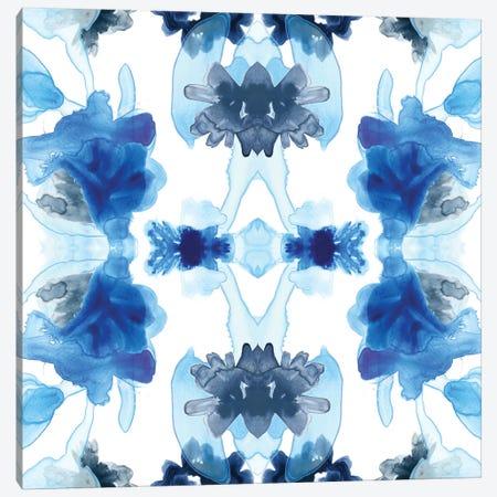 Blue Kaleidoscope II Canvas Print #JEV476} by June Erica Vess Canvas Artwork