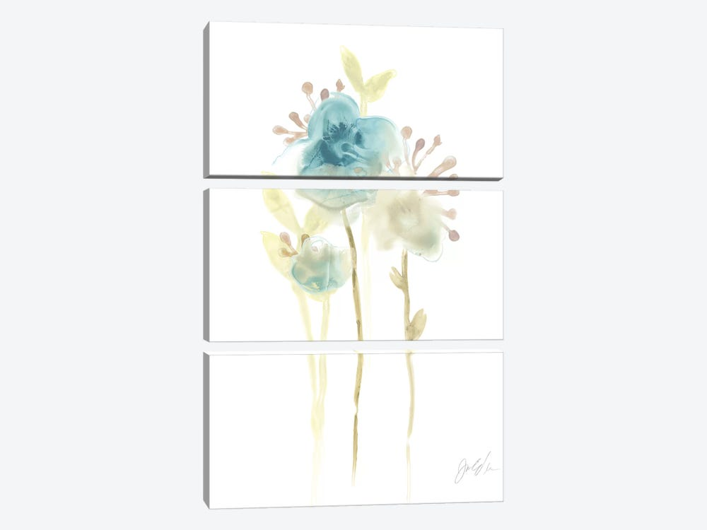 Bluebell I by June Erica Vess 3-piece Art Print