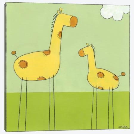 Giraffe I Canvas Print #JEV47} by June Erica Vess Canvas Art Print