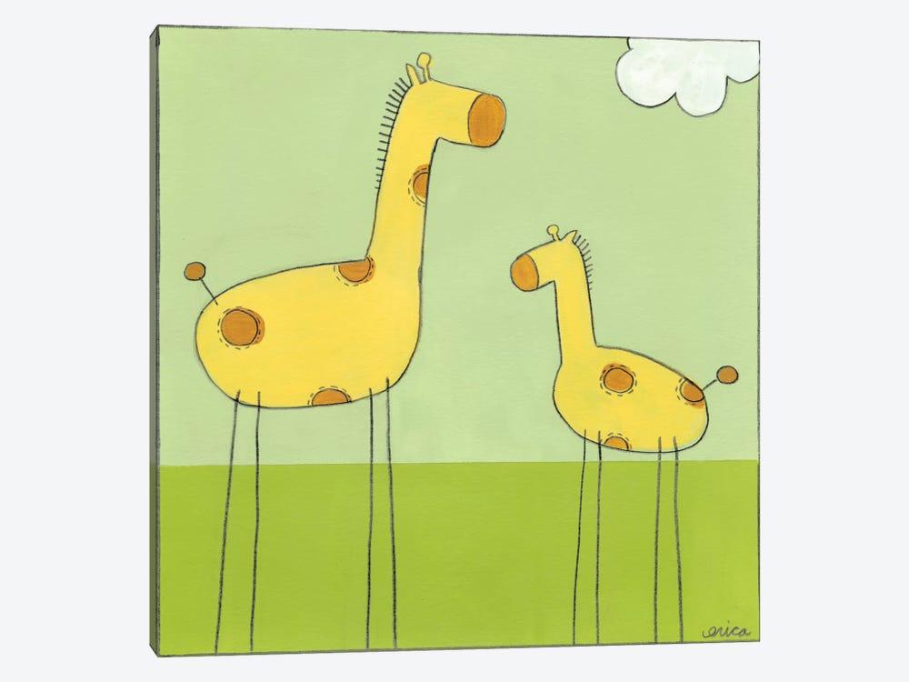 Giraffe I by June Erica Vess 1-piece Art Print