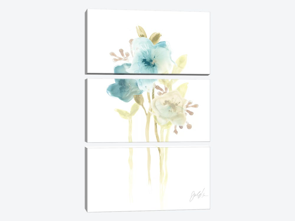 Bluebell II by June Erica Vess 3-piece Canvas Art Print