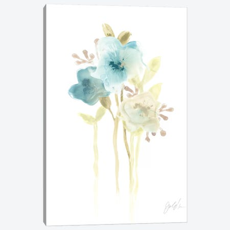 Bluebell II Canvas Print #JEV480} by June Erica Vess Canvas Artwork