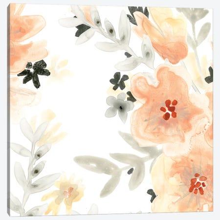 Blush Garden II Canvas Print #JEV482} by June Erica Vess Canvas Artwork