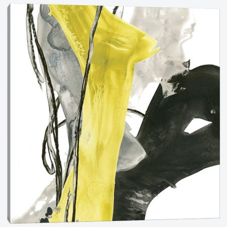 Citron Flux I Canvas Print #JEV492} by June Erica Vess Art Print