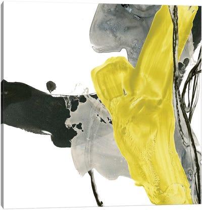 Citron Flux II Canvas Art Print