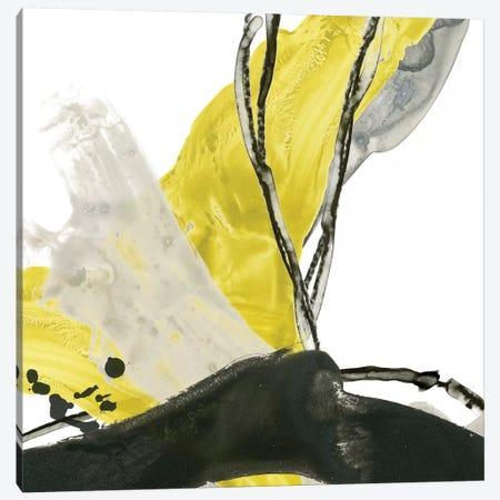 Citron Flux III Canvas Print #JEV494} by June Erica Vess Canvas Artwork