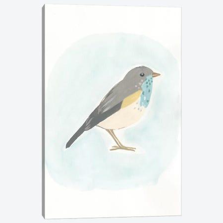 Dapper Bird I Canvas Print #JEV498} by June Erica Vess Canvas Art Print