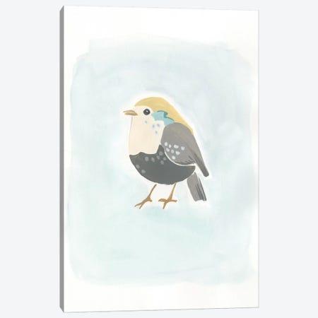 Dapper Bird II Canvas Print #JEV499} by June Erica Vess Canvas Art Print