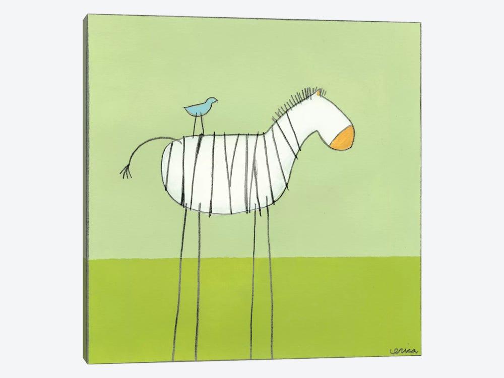 Zebra I by June Erica Vess 1-piece Art Print