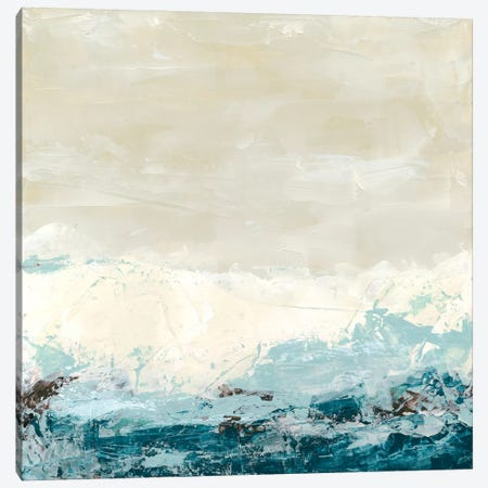 Coastal Currents II Canvas Print #JEV4} by June Erica Vess Canvas Wall Art