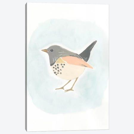 Dapper Bird IV Canvas Print #JEV501} by June Erica Vess Art Print
